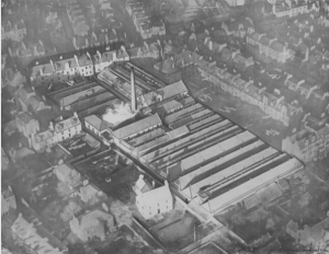 The Extent of Belmont Works - Image courtesy of Dundee Heritage Trust