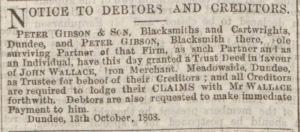 Dundee Courier, 15 October 1868 - Image© BRITISH LIBRARY BOARD. ALL RIGHTS RESERVED