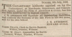 Dundee Advertiser, 9 July 1862 - Image© THE BRITISH LIBRARY BOARD. ALL RIGHTS RESERVED