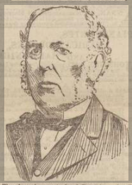 Portrait Drawing of Alexander Blair Spence