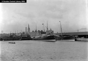 Dundee and Cambria, Dundee, Perth & London ships built by Gourlays. Photopolis wc0948 courtesy Leisure & Culture Dundee
