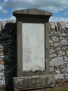 Dalgleish Family Gravestone, Ceres Kirkyard