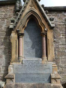 Memorial Stone - Western Cemetery