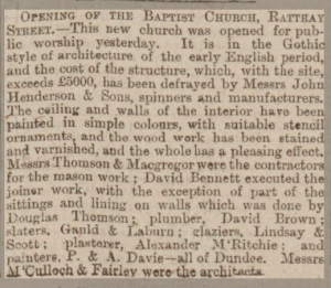 Dundee Evening Telegraph, 23 September 1878 - Image© THE BRITISH LIBRARY BOARD. ALL RIGHTS RESERVED