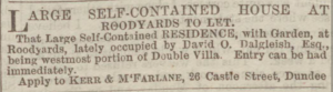 Dundee Courier, 21 April 1871 - Image© THE BRITISH LIBRARY BOARD. ALL RIGHTS RESERVED