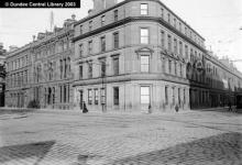 National Bank of Scotland, Reform Street, designed by William Scott. Photopolis wc3310 courtesy of Leisure & Culture Dundee.